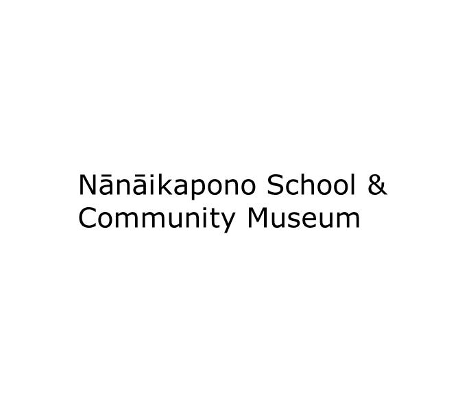Nanaikapono School and Community Museum logo